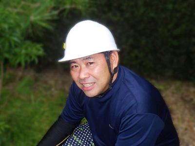 エクステリア緑工房代表 平井政司