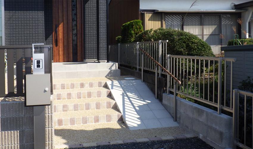 施工事例 リニューアル外構 亀山市