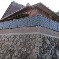 施工事例 塀 フェンス 化粧ブロック